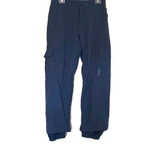 Burton Women's Sz XS Ski Snow Pants Navy Blue